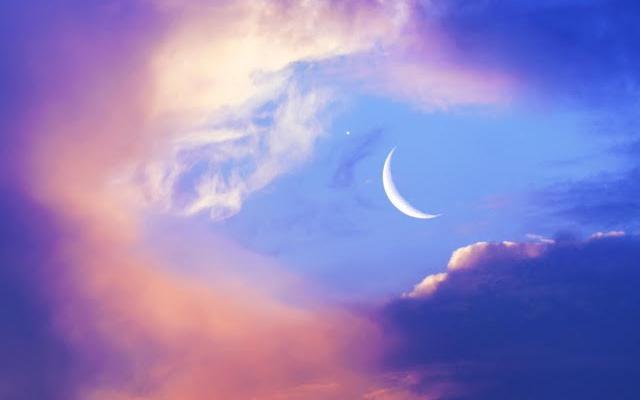 Hemel met maan