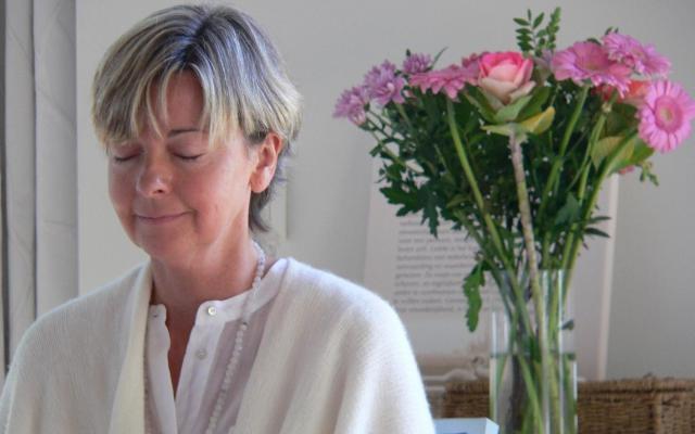 Ingeborg in meditatie