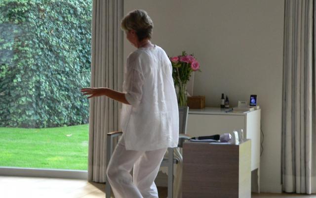 Ingeborg in beweging