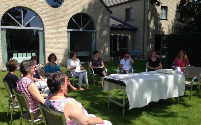 Vreugde bij de IET sessie in Brugge