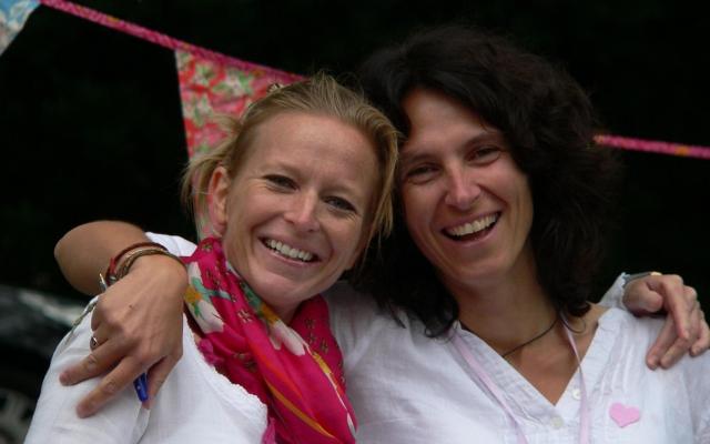 Anke en Mieke