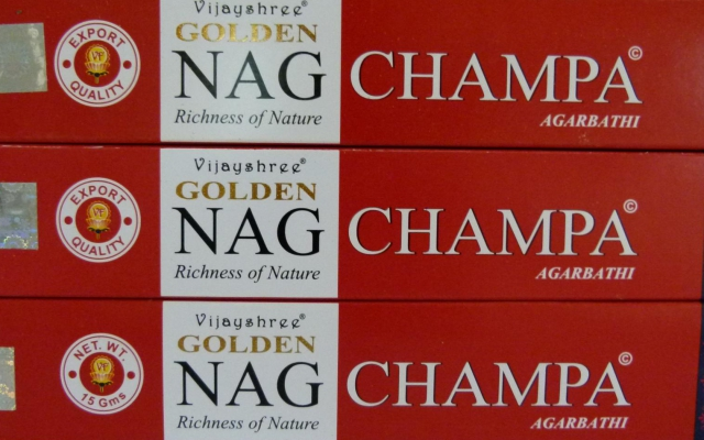 Nag Champa - Golden - 15 g.