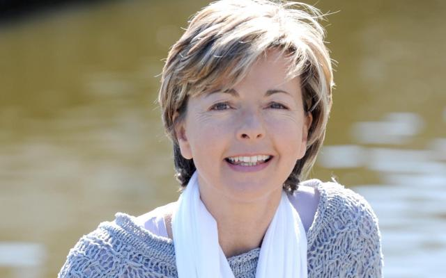 Ingeborg aan het water in Brugge